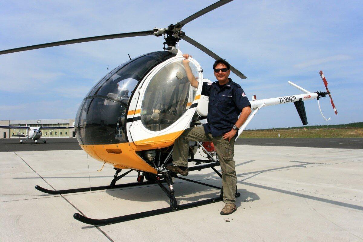 Hubschrauber selber fliegen Berlin Nah McFuntastic